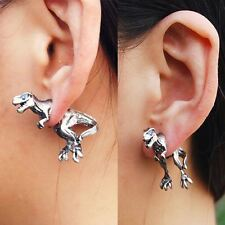 COOL Punk Rock 3D tentazione DINOSAURO Dragon Ear Cuff Wrap Clip Orecchini 1pcs