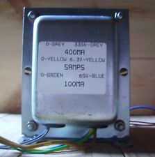 Valve Amplifier Mains Transformer