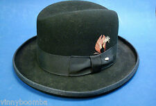 VINTAGE HOMBURG MEN'S HAT BAILEY'S SMALL PURE WOOL DRESS HAT READY TO WEAR