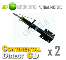 2 x CONTINENTAL DIRECT FRONT SHOCK ABSORBERS SHOCKERS STRUTS OE QUALITY GS6010F