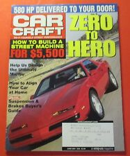 CAR CRAFT MAGAZINE JUNE/2001....HOW TO BUILD A STREET MACHINE FOR $5,000.