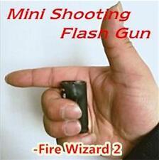 Mini Shooting Flash Gun,fire wizard 2,Fire Magic Accessories,Stage magic tricks