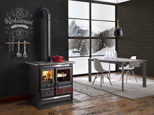 "Wood Burning Cook Stove La Nordica ""Rosa L"" Cooking Range & Baking Oven"