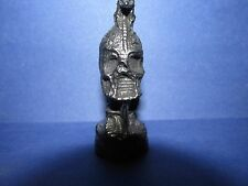 Pewter Monster Wizard Warrior Bust