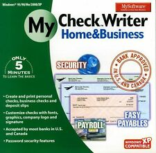 MySoftWare My CheckWriter Home & Business