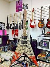 BC Rich Skull Pile V Body art collection