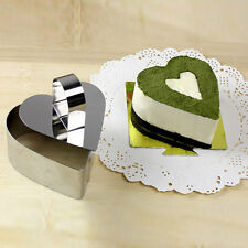 Pastry Heart Forms Cheese Cake Mould Sectional Shape Baking Bakeware Mold Mold D