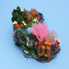 Artificial Resin Coral for Aquarium Fish Tank Decoration Underwater Ornament LI