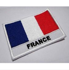 FREEDOM FRANCE FRENCH NATIONAL FLAG Sew on Patch Free Shipping
