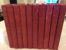 The Works of Edgar Allan Poe. Complete Set 10 Volumes Cameo Edition 1904 1st ed.