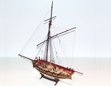"Beautiful, brand new Caldercraft wood model ship kit: the ""Sherborne"" cutter"