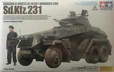 1/35 Tamiya German 6-Wheeled Sd.Kfz.231 - Heavy Armored Car #37024 -New