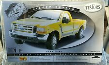Testors 1/24th scale Ford F-350 Pickup metal body NEW! (YELLOW) #440079
