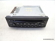 Stereo Head Unit Cd Player-Needs Coding-03 Peugeot 206 2.0 hdi 5 door hatch ref.