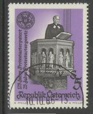 AUSTRIA SG2107 1986 PROTESTANTS ACT & LAW FINE USED