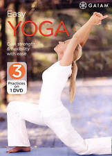 Easy Yoga Improve Circulation Breathing Arthritis Stiffness Seniors DVD NEW