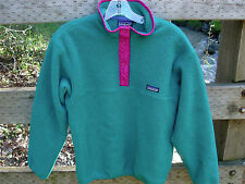 Patagonia Vintage Made in USA SNAP-T Fleece Pullover Jacket Womens sz 12 Medium