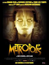 Affiche 120x160cm METROPOLIS - Fritz Lang - Brigitte Helm, Abel R2011 NEUVE