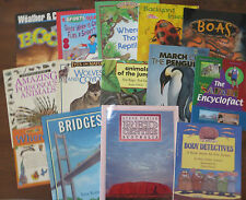 Lot 69 Kids Picture Books Non-Fiction Science & History Earth Human Body