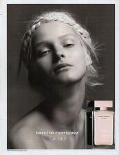 Publicité Advertising 2010  Parfum narciso rodriguez for her pour femme