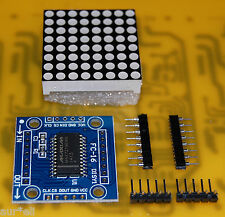 Matriz de led 8x8 con MAX7219 (display dot matrix)