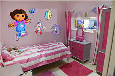 Nickelodeon's Dora the Explorer boots Wall Art Decal sticker Fathead kids extras