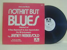 LP-NOTHIN' BUT BLUES JAMEY AEBERSOLD VOLUME 2-+LIBRO