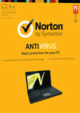 Symantec Norton AntiVirus 2013 with Antispyware CD - 1 Year Protection