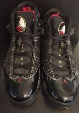 Nike Air Jordan 6 Rings HOF Black/Red-White-Gold Hall Of Fame 371497-031 SZ 10.5