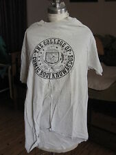 T-Shirt COLLEGE OF COMIC BOOK KNOWLEDGE GRADUATE CLASS OF '93 - XL - Gray