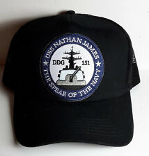 USS Nathan James- Last Ship TV Series Baseball/Trucer Cap/Hat-Black Cap-FREE S&H