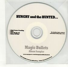 (GO373) Hungry & The Hunted, Magic Bullets sampler - 2009 DJ CD