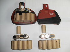 2 Kits  remplacement batterie hilti sfb185 3Ah (bateria akku battery)