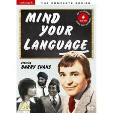 MIND YOUR LANGUAGE - THE COMPLETE LWT SERIES 4 DVD'S