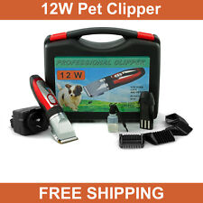 Electric Cordless Pet Cat Dog Hair Grooming Clipper Trimmer Kit Animal Clipper