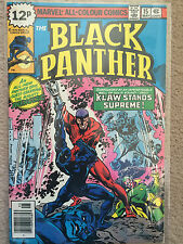 Black Panther #15 Marvel Comics Rare 1979 Vol 1 Jack Kirby Bronze Age FN
