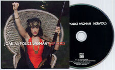 JOAN AS POLICE WOMAN Nervous 2011 UK 2-track promo CD