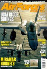 AIR FORCES MONTHLY 10/04 USMC MIRAMAR F/A-18 VMFA / USAF ELINT SIGINT COMINT