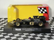 POLICAR LOTUS 72  #8 MONACO GP 1972  BLACK  CAR02C  1:32 SLOT BNIB