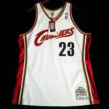 * Authentic Lebron James Mitchell Ness Cavs Cavaliers Men Jersey 48 XL * irving