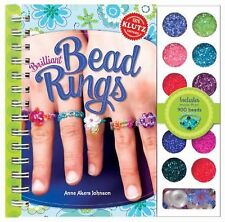 Brilliant Bead Rings by Klutz Editors and Anne Akers Johnson (2011, Die...