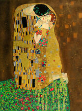 "GUSTAV KLIMT POSTER ""THE KISS"""
