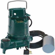 Zoeller BN53 - 1/3HP Cast Iron Submersible Sump Pump w/ Tether Float Switch
