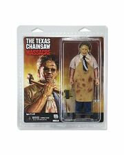 "NECA RETRO 40TH ANNIVERSARY TEXAS CHAINSAW LEATHERFACE  8"" ACTION FIGURE MOVIE"