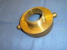 "Fire Hose Hydrant Adapter 2-1/2"" NST Female X 2"" IPT Male Dixon HA2520T Brass"