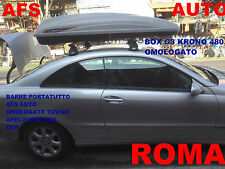 BOX AUTO G3 KRONO 480 LT OMOLOGATO+BARRE PORTATUTTO SPECIFICHE MERCEDES CLK 2002
