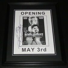 Richard Grieco Signed Framed 8x10 Photo The Demolitionist B
