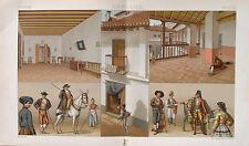Spanien Spain Andalusien Sevilla Esel Kostüm Tracht Schlafzimmer Patio Stadthaus