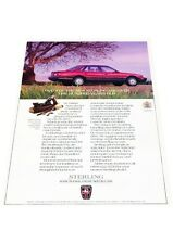 1990 Sterling 827SL 827 Austin Rover -  Vintage Advertisement Car Print Ad J423
