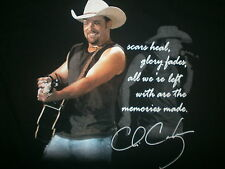 CHRIS CAGLE CONCERT T SHIRT Country Music Chicks Dig It What A Beautiful Day L